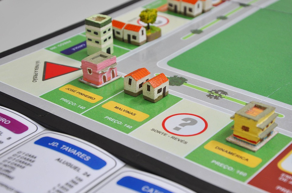 Houses and Real Estate in Monopoly Are Investing in Real Estate